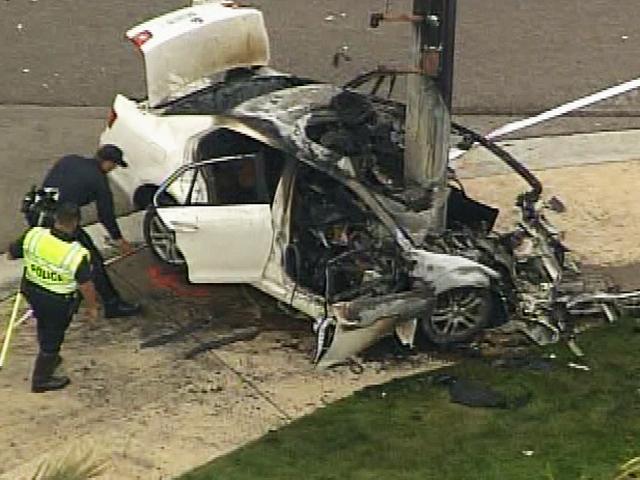Woman 23 Dies In Fiery Carlsbad Crash Kgtv Tv San Diego