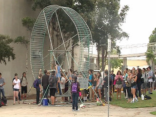 Hamster wheel Point Loma High School-10933