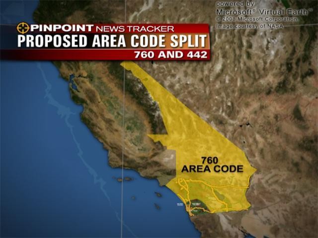 760 Area Code Residents Get New 442 Code   10News.KGTV TV San