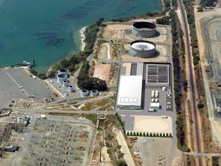 Tentative deal reached for desal plant