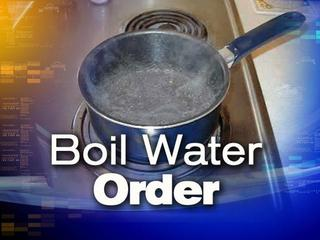 Boil water order issued due to power outages