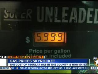 Gas Prices San Diego >> San Diego Gas Prices Continue To Skyrocket 10news Com Kgtv Tv