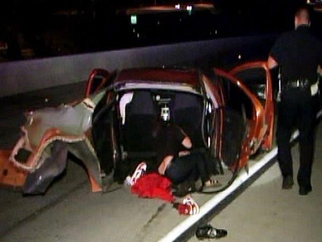 Car Split In Half In Alcohol Related Single Car Crash 2 10news