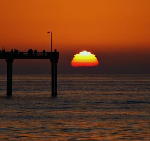 Where to see a green flash in San Diego