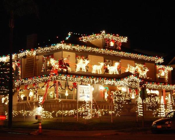 interactive map dazzling holiday light displays in san diego