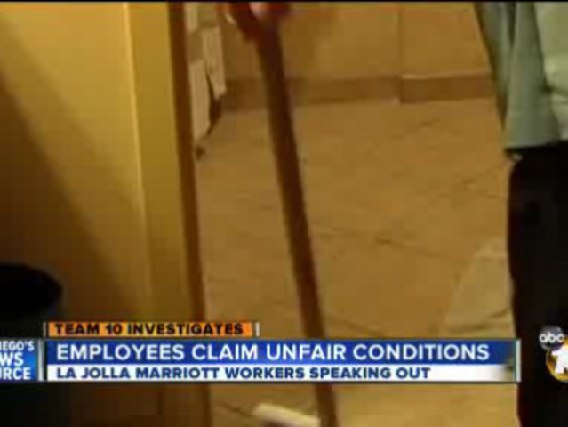 Employees At Local Hotel Complain Of Inhumane Working Conditions 10news Kgtv Tv San Go