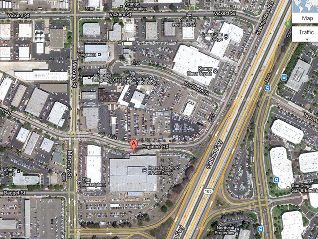 Suspicious Device At Mercedes Benz Dealership In Kearny Mesa Deemed Harmless
