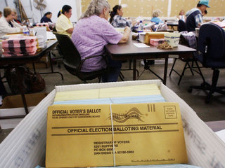 Record number of mail-in votes could delay count