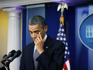 Obama tears up as he speaks about shooting-10933