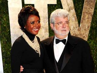 George Lucas and Mellody Hobson-10933