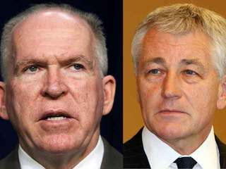 Obama Nominations Hagel, Brennan-10933