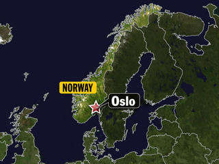 Oslo, Norway map-10933