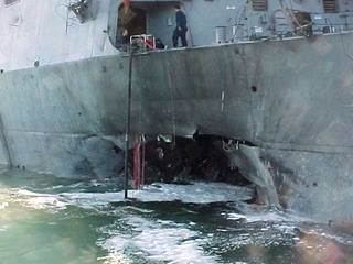 USS Cole damage-10933