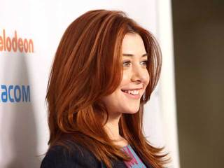Actress Alyson Hannigan-10933