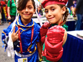 PHOTOS: Kids get in on the fun at Comic-Con