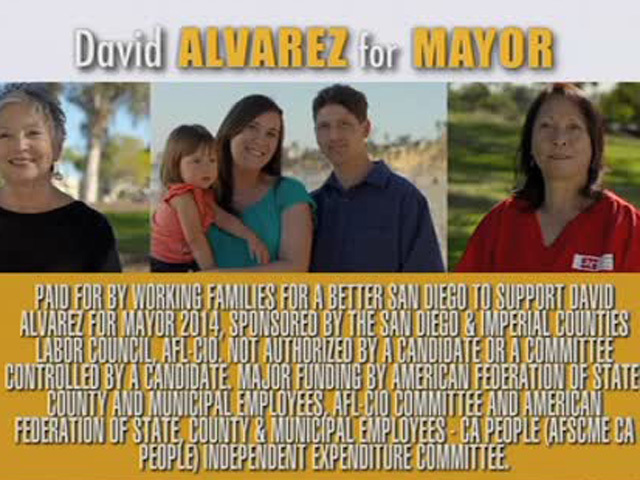 David Alvarez campaign ad Jan. 27, 2014