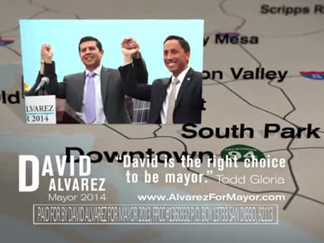 David Alvarez campaign ad Jan. 30, 2014