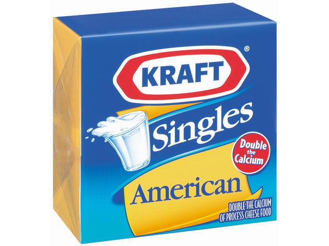 kraft singles cheese