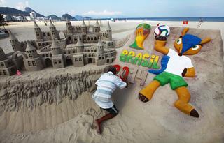 Río de Janeiro se prepara para la Copa Mundial