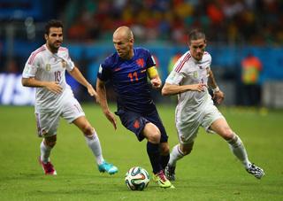 Holanda humilla a España 5-1