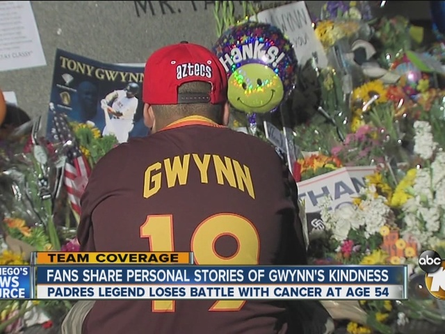 Fans share personal stories of Tony Gwynn's kindness