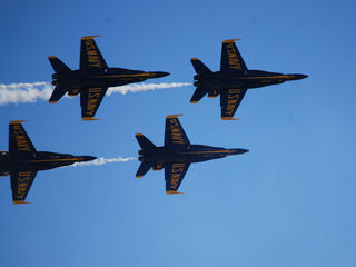 Father and son fly with Blue Angels at Miramar