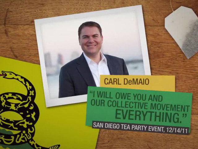 Anti-Carl DeMaio campaign ad
