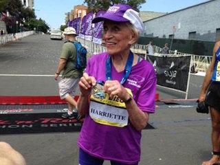 Woman, 92, finishes San Diego marathon