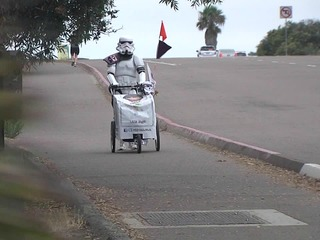 'Stormtrooper' walks 645 miles in wife's memory