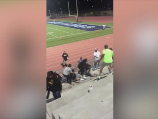 VIDEO: Adults brawl at youth football game