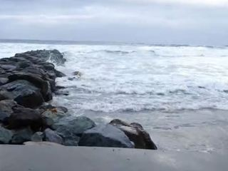Rare King tides at SD County beaches this week