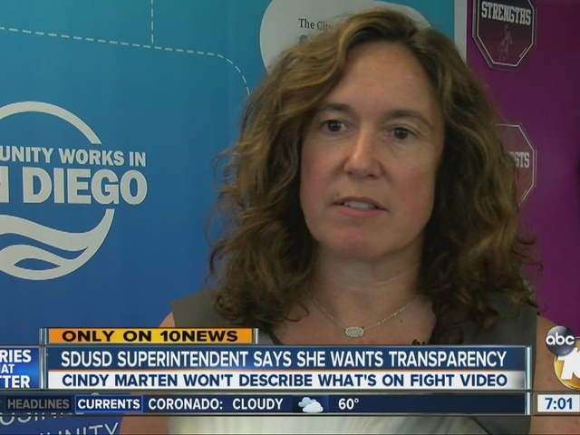 Exclusive Sd Unified Superintendent Cindy Marten Wants