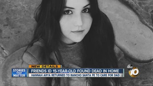 Rancho Santa Fe Teen Victim Was Homeowner S Daughter