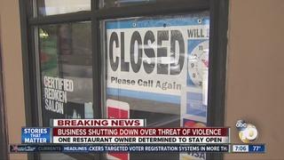 El Cajon businesses prepare for protests
