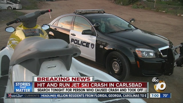Crash Involving 2 Jet Skis Reported In Water Off Carlsbad 10news