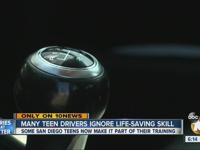 Many teenage drivers abandoning the manual transmission