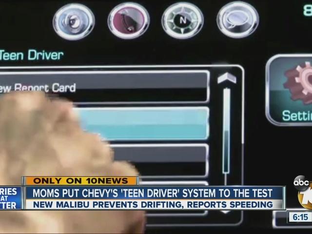 New car technology keeps teen drivers safe