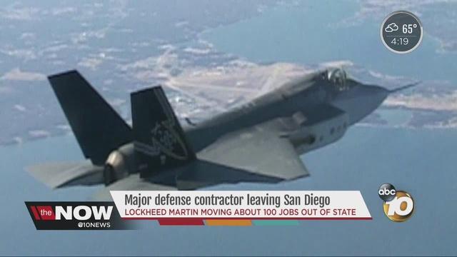 Major Defense Contractor Leaving San Diego 10news Com