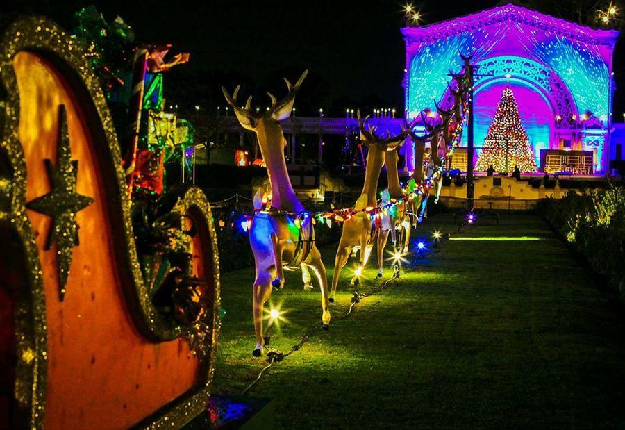 annual december nights holiday festival opens at balboa park 10newscom kgtv tv san diego - Balboa Park Christmas Lights