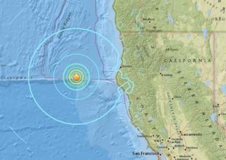 USGS: 6.5 earthquake off Northern Calif. coast