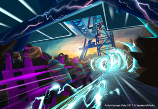 SeaWorld San Diego rev-eels new coaster