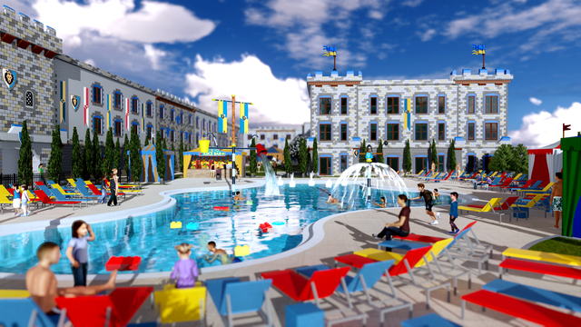 Concept Are Of New Legoland California Castle Hotel Photo Contributed By