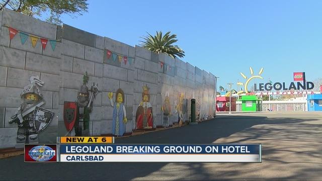 Legoland California To Break Ground On New Castle Hotel