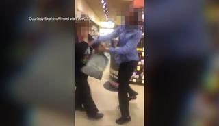 Brawl at San Diego Safeway caught on video