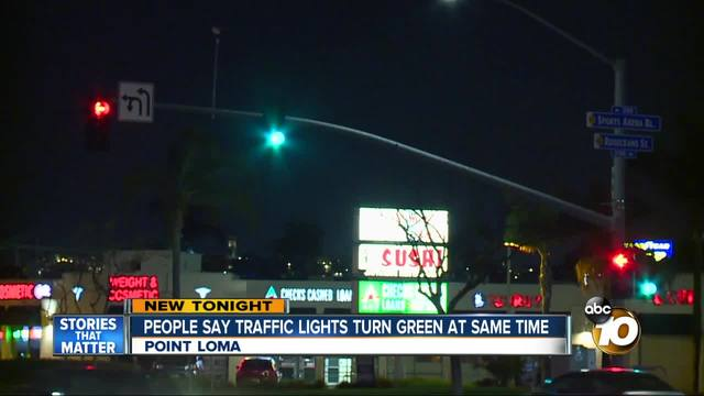 drivers worried about dangerous traffic light in point loma