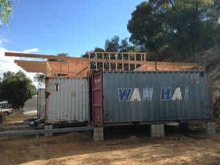 San diego couple using shipping containers to live for less kgtv tv san diego - Container homes san diego ...