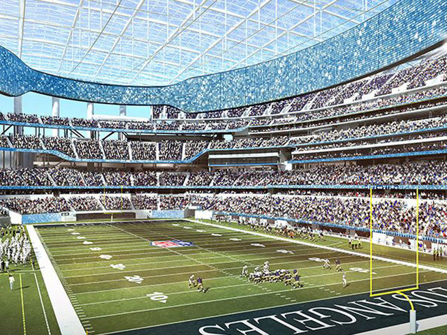 Chargers Stadium Opening In Inglewood Delayed Until 2020