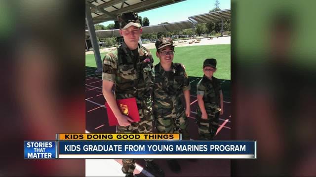 Kids Doing Good Things- Camp Pendleton Young Marines Program