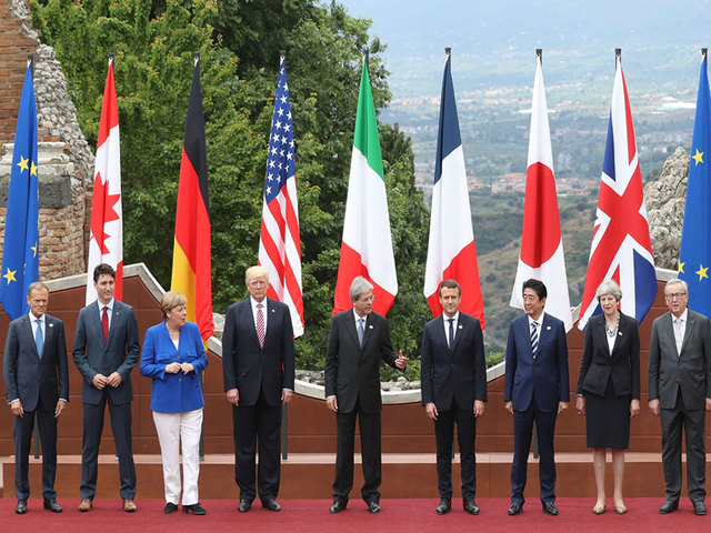 Trump leaves G-7 with trade deal, no climate commitment