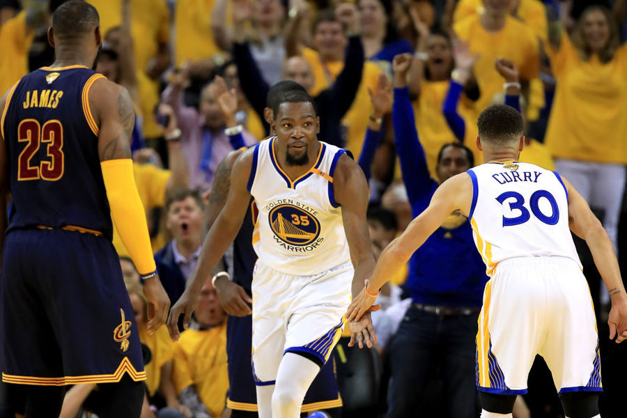 Nba Finals Curry Durant Power Warriors Past Cavs In Game 1 113 91